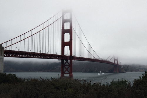 Golden Gate im Fog